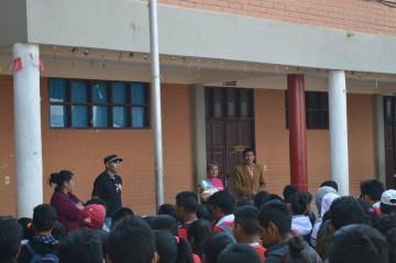 Alcaldía compromete equipamiento para intensificar las clases en Culpina