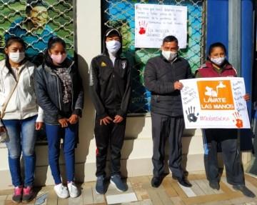 Alumnos del JAZ publican carteles con mensaje para combatir al coronavirus
