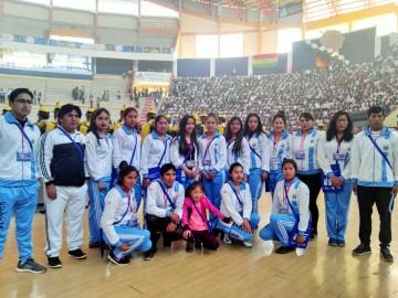 Arrancan los VIII Juegos Deportivos Plurinacionales de Secundaria en Sucre