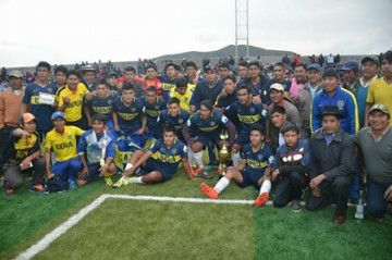 Boca de Villa Charcas es el campeón del torneo corto de fútbol