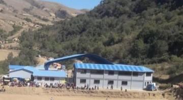 Caiza-K estrena colegio gracias a sus niños campeones voleibolistas