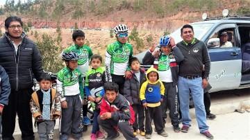Camargo ocupa el segundo lugar en  el torneo nacional de ciclismo infantil
