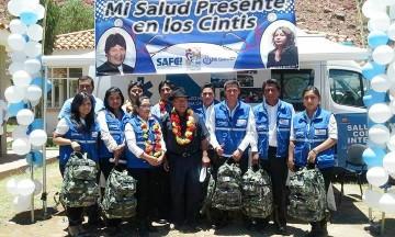 Camargo recibe seis ítems de médicos para puestos de salud