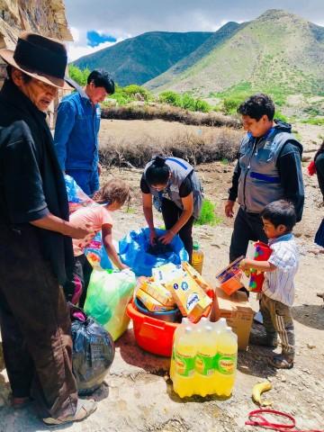 Camargo se solidariza con los niños huérfanos de Cabrería
