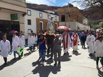 Camargueños celebran a Santiago Apóstol con misa y procesión