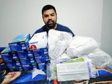 Campaña recoge guantes y barbijos para necesitados de Culpina