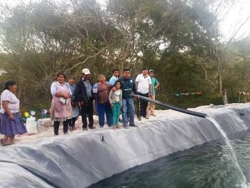 Cañón Verde estrena microriego para beneficiar a más de 15 familias