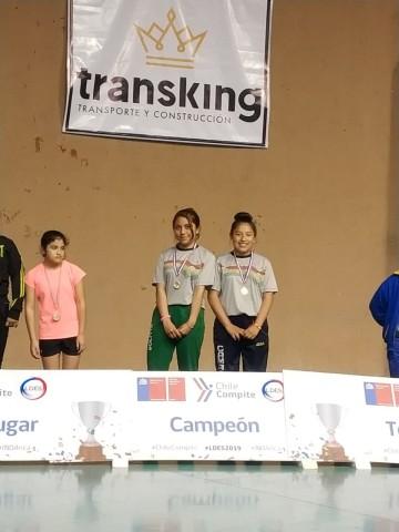 Claudia Cruz de Camargo logra medalla de oro en torneo internacional