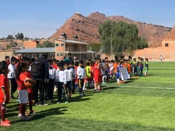 Comenzó el torneo de fútbol para categorías menores en Camargo