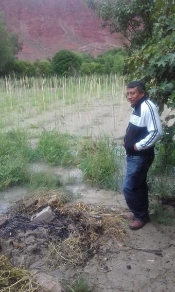 Crece el Río Chico e inunda dos comunidades en Camargo