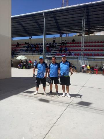 Culpina marcha invicto en el torneo oficial de raqueta en Sucre