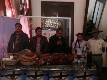 Culpina presenta la fiesta del Señor de Pilaya en Sucre