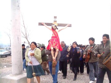 Culpineños en Mendoza celebran al Señor de Pilaya