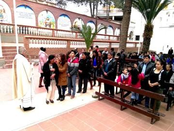 Culpineños en Sucre celebran al Señor de Pilaya