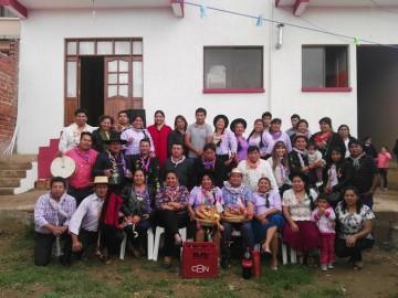 Culpineños en Sucre festejan la unión de compadres y comadres