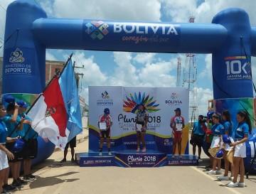Dayne Vedia se cuelga la medalla de bronce en los pluris fase nacional