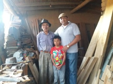 Destacan la vida de Manuel Aldana, el maestro carpintero de Yapusiri