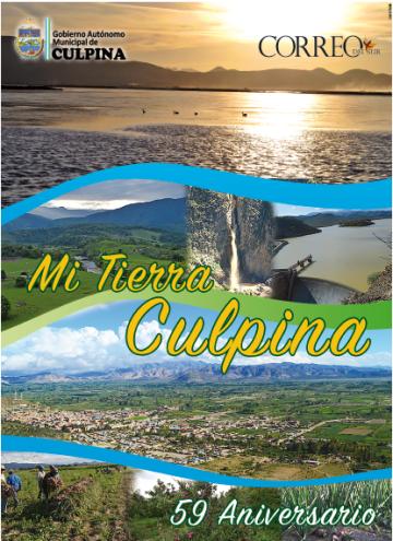 Edición especial de Culpina se publica mañana en Correo del Sur
