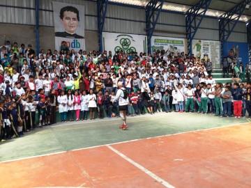 El atleta colombiano Samuel Bocanegra está en Camargo
