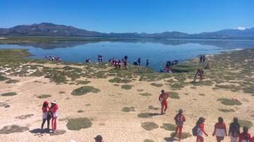 El Colegio Zampa se moviliza para limpiar La Laguna de plásticos