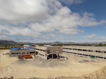 El hospital de segundo nivel de Culpina tiene un avance del 26%