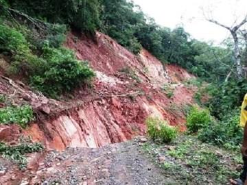 El Palmar demanda reposición de camino que tiene daños en el 80% de la vía