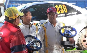 El piloto camargueño Richard Llanos es subcampeón nacional de automovilismo