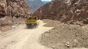 El Sedcam hace el mantenimiento del camino Saladillo-Culpina
