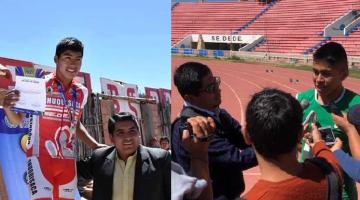 Elvis Rengifo y Pedro Tarifa logran oro en ciclismo y atletismo