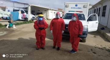 En Camargo impidieron el paso de una ambulancia de Culpina