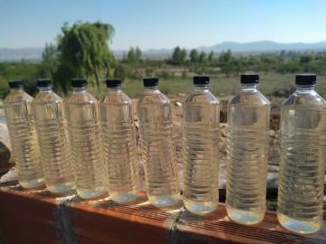 En Culpina producen vinagre de manzana y hay 4.000 litros a la venta