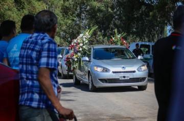 Entierran a los cuatro jóvenes futbolistas que viajaban a Incahuasi