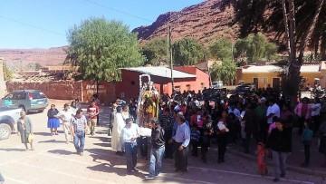 Gran cantidad de feligreses acompañan la festividad de la Virgen del Carmen