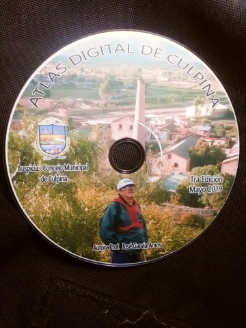 Grupo Cultural Semilla publica el Atlas Digital de Culpina en un CD