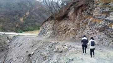 Habilitan camino El Palmar – Tarija por Cañón Verde
