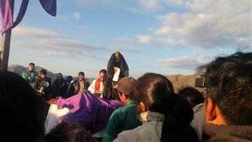 Incahuasi celebra la Semana Santa con fe y en medio de sus tradiciones