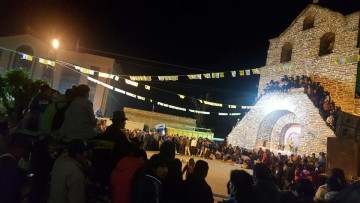 Inicia la festividad de la Virgen del Rosario en Incahuasi