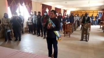Inocencio Ovando asume como alcalde de Culpina