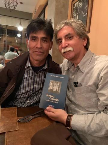 Iván Jesús Castro, el escritor culpineño, se adentra en la obra de Homero Carvalho