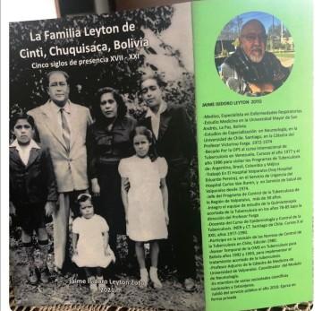 Jaime Leytón Zoto escribió un libro de la familia Leytón en Cinti