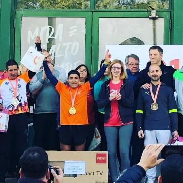 Juan Carlos Pua logra un resonante triunfo en la maratón 21K de Rafaela