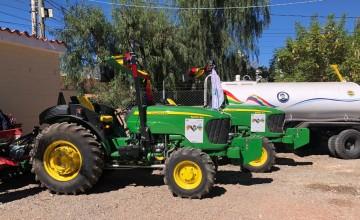 La Alcaldía de Camargo cobra Bs 50 la hora de tractor agrícola