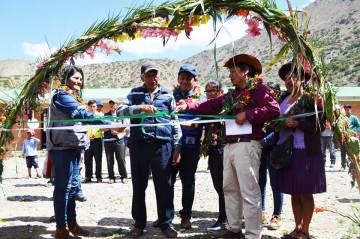 La comunidad de Chiri estrena sistema de agua potable