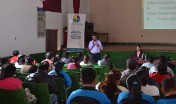 La Defensoría del Pueblo sensibiliza a 76 maestros de Camargo