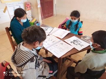 La educación escolar en Culpina continúa con el 80% de los profesores