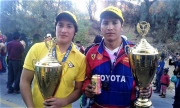 La región de los Cintis hace podio en la carrera Doble Sama de Tarija
