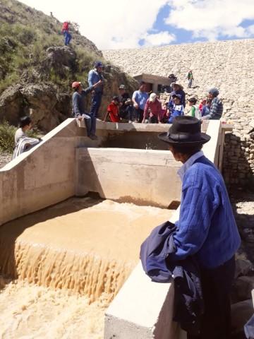 La represa de Miraflores de Incahuasi irrigará 150 hectáreas