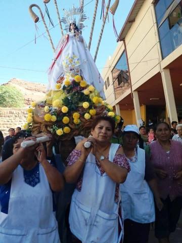 La Virgen de Chaguaya sorprende a los camargueños con una visita