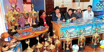 Lanza los Juegos Deportivos Municipales que se realizarán en Villa Charcas