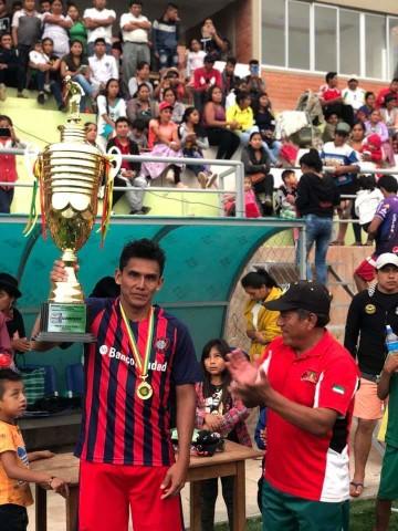 Malcastaca es campeón del torneo Interdistritos de fútbol de Camargo